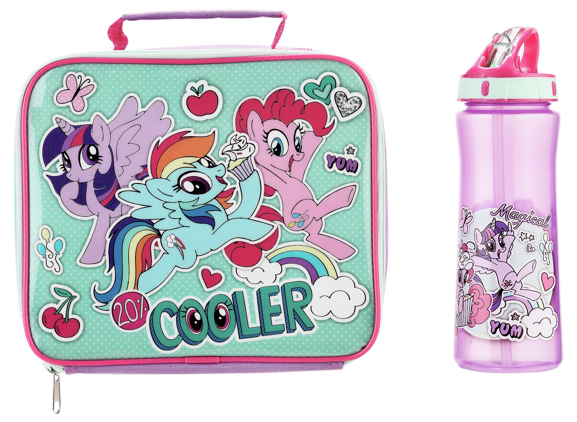 sale on my little pony lunch bag and bottle my little. Black Bedroom Furniture Sets. Home Design Ideas