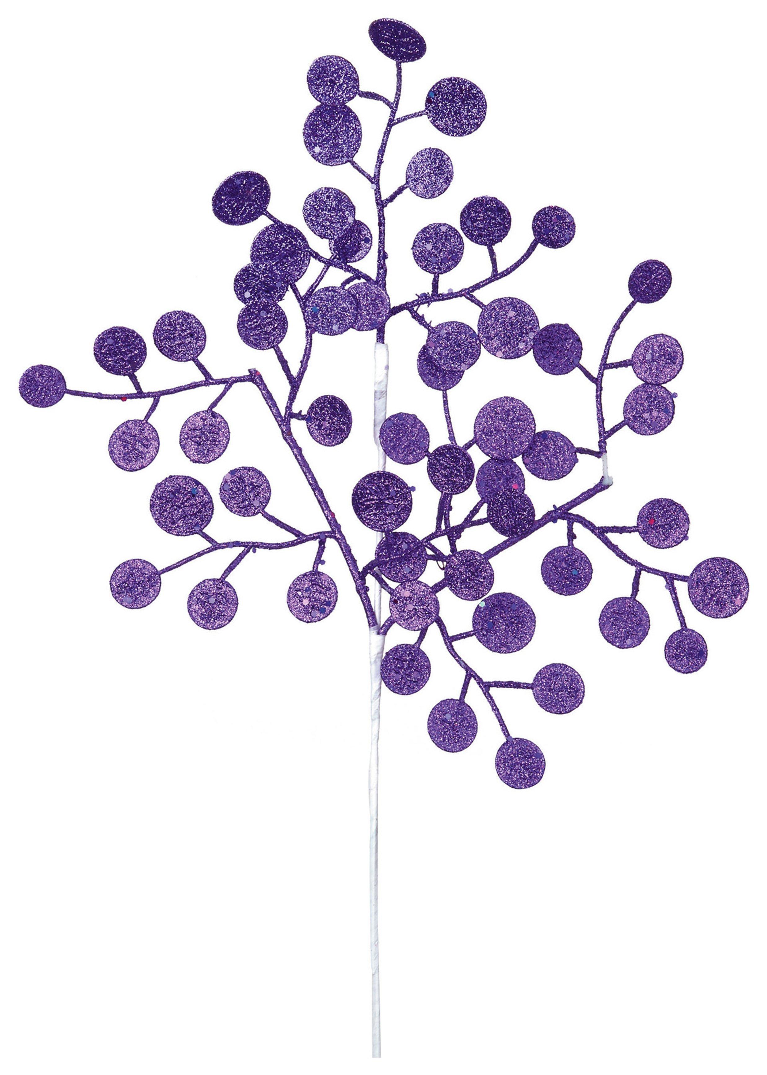 premier-decorations-46cm-money-tree-stem-decoration-purple