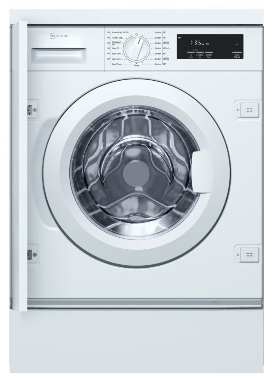 Neff W543BX0GB 8KG 1400 Spin Washing Machine - White