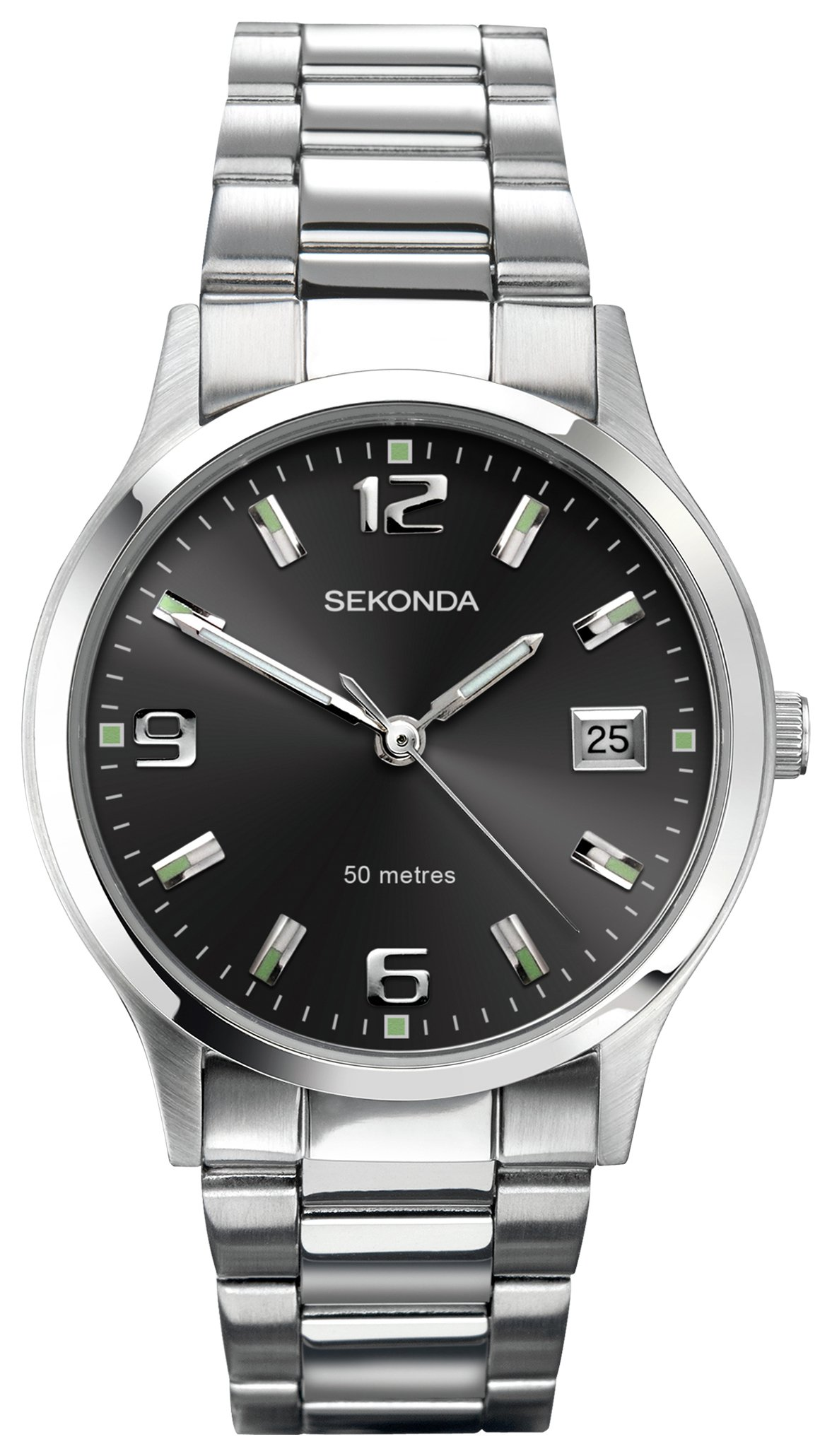 Sekonda Men's Stainless Steel Braclet Watch