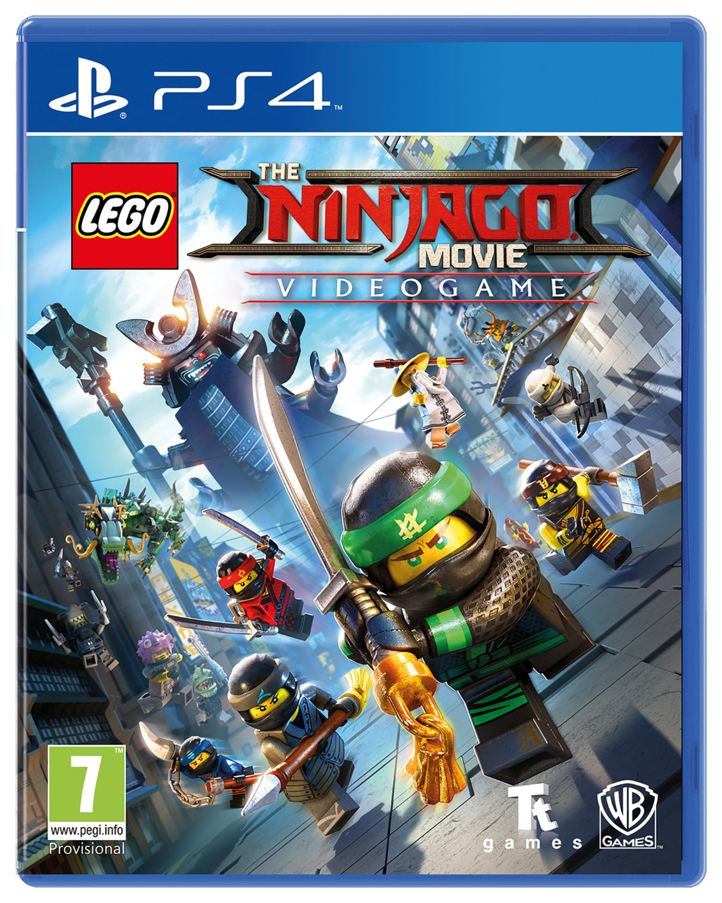Image of LEGO Ninjago Movie PS4 Game