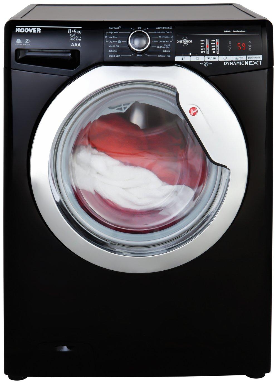 Hoover WDXOAC485CB 8KG / 5KG 1400 Spin Washer Dryer - Black