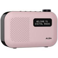 Alba Mono DAB Radio - Blush