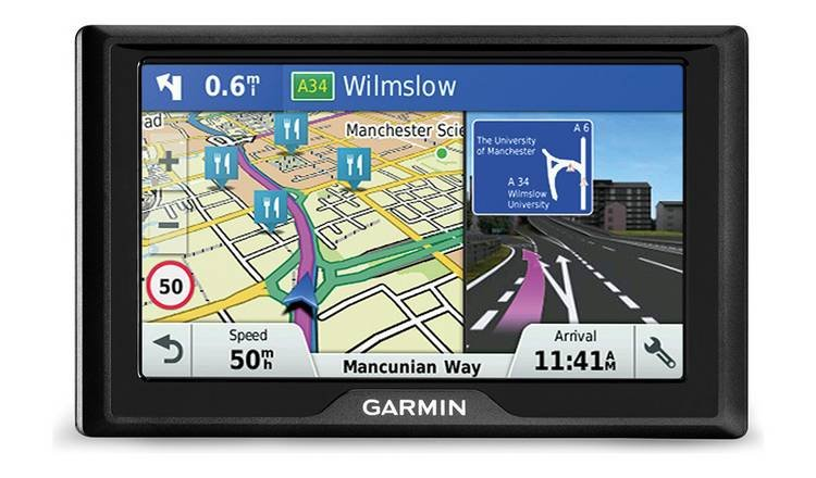 Image of Garmin Drive 51 LMT-S 5 Inch Sat Nav with EU Maps & Traffic