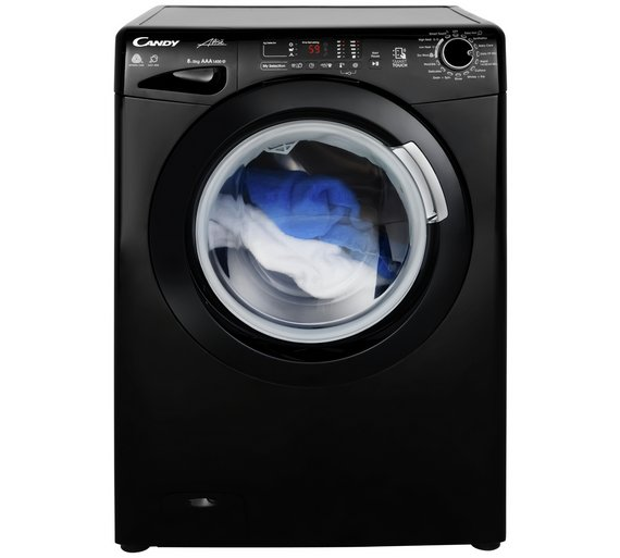Buy Candy Gvsw485db 8 5kg 1400 Spin Washer Dryer Black Washer
