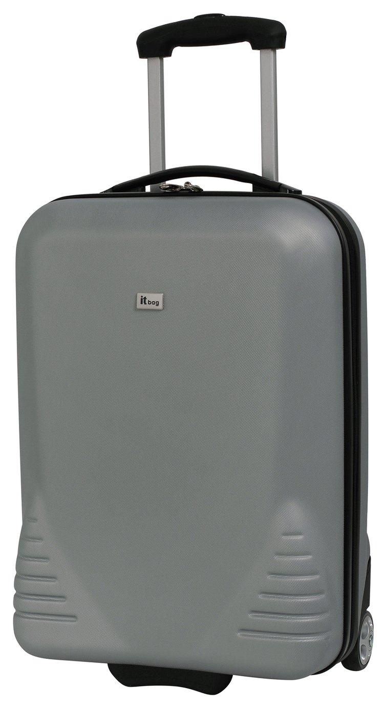 IT Luggage Large 2 Wheel Hard Suitcase - Silver