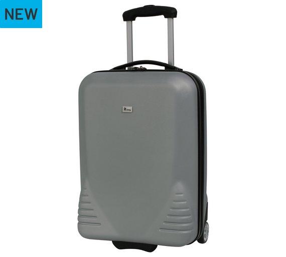 Buy IT Luggage Hard 2 Wheel Large Suitcase - Silver at Argos.co.uk ...