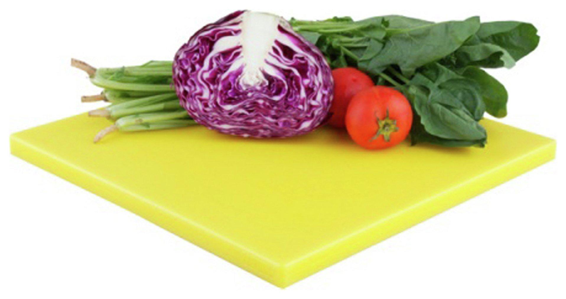 zanussi-polyethylene-cutting-board-yellow