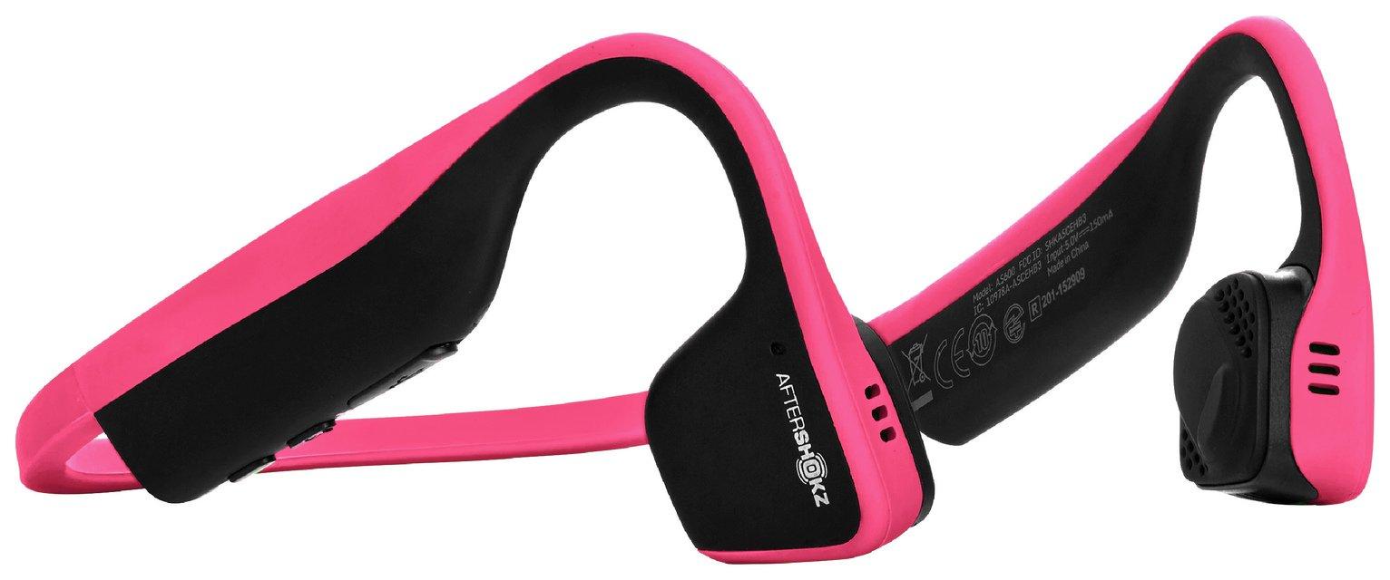 Image of AfterShokz Trekz Titanium Bone Conduction Headphones - Pink
