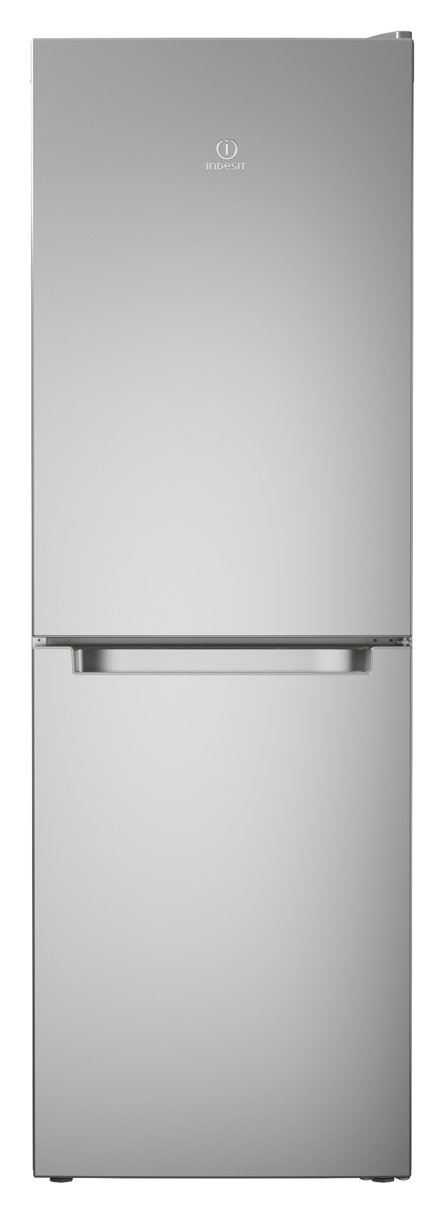Indesit LD70N1S Fridge Freezer - Silver