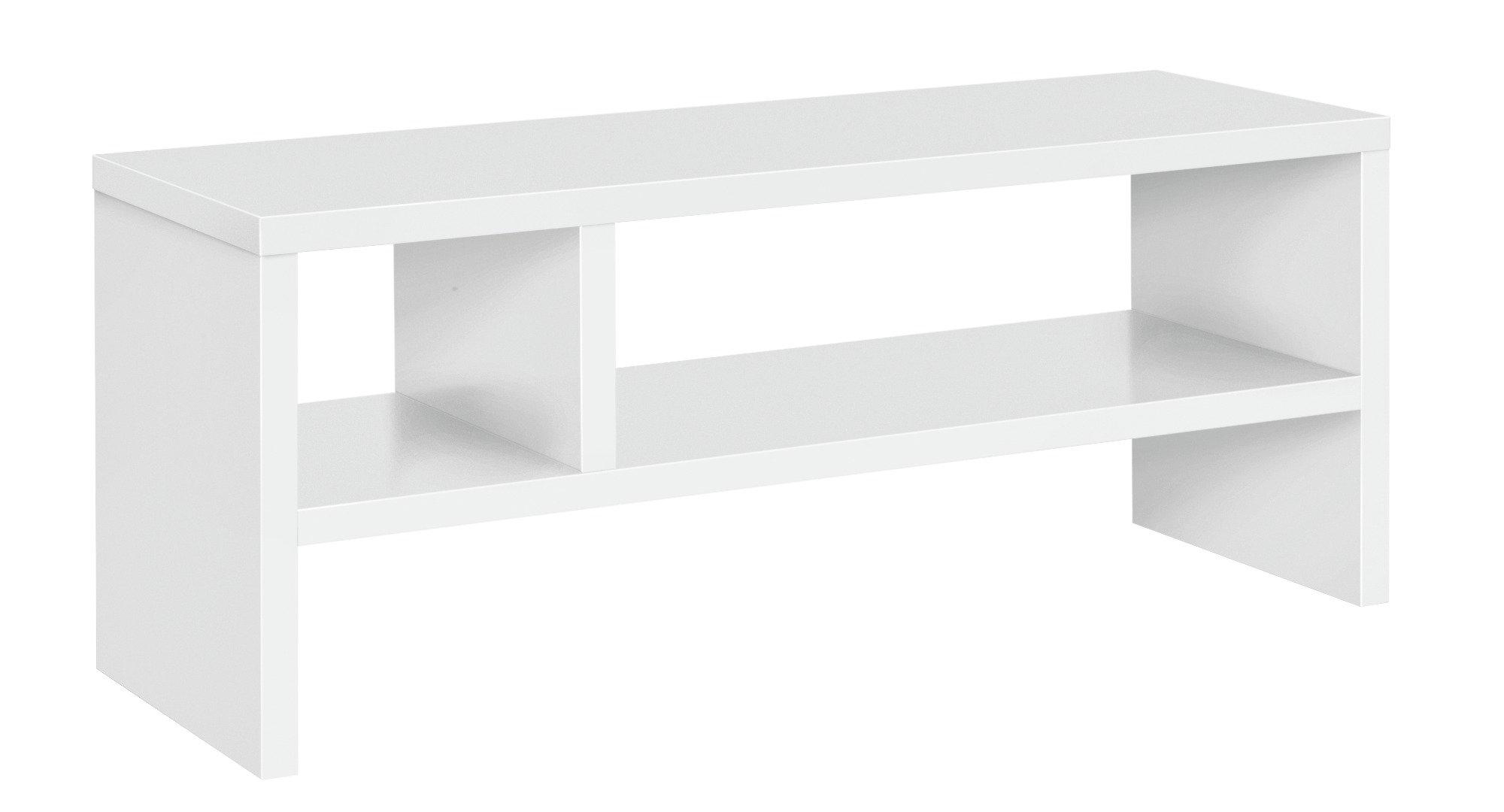 Argos Home Oscar TV Unit - White Wood Effect