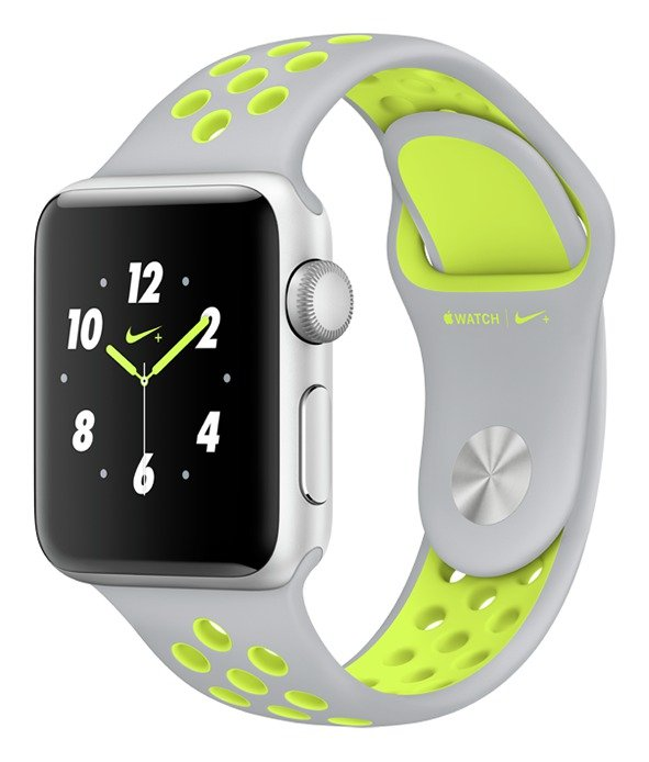 Apple Watch Nike+ 38mm Silver Alu Case/Silver Volt Band. cheapest retail price