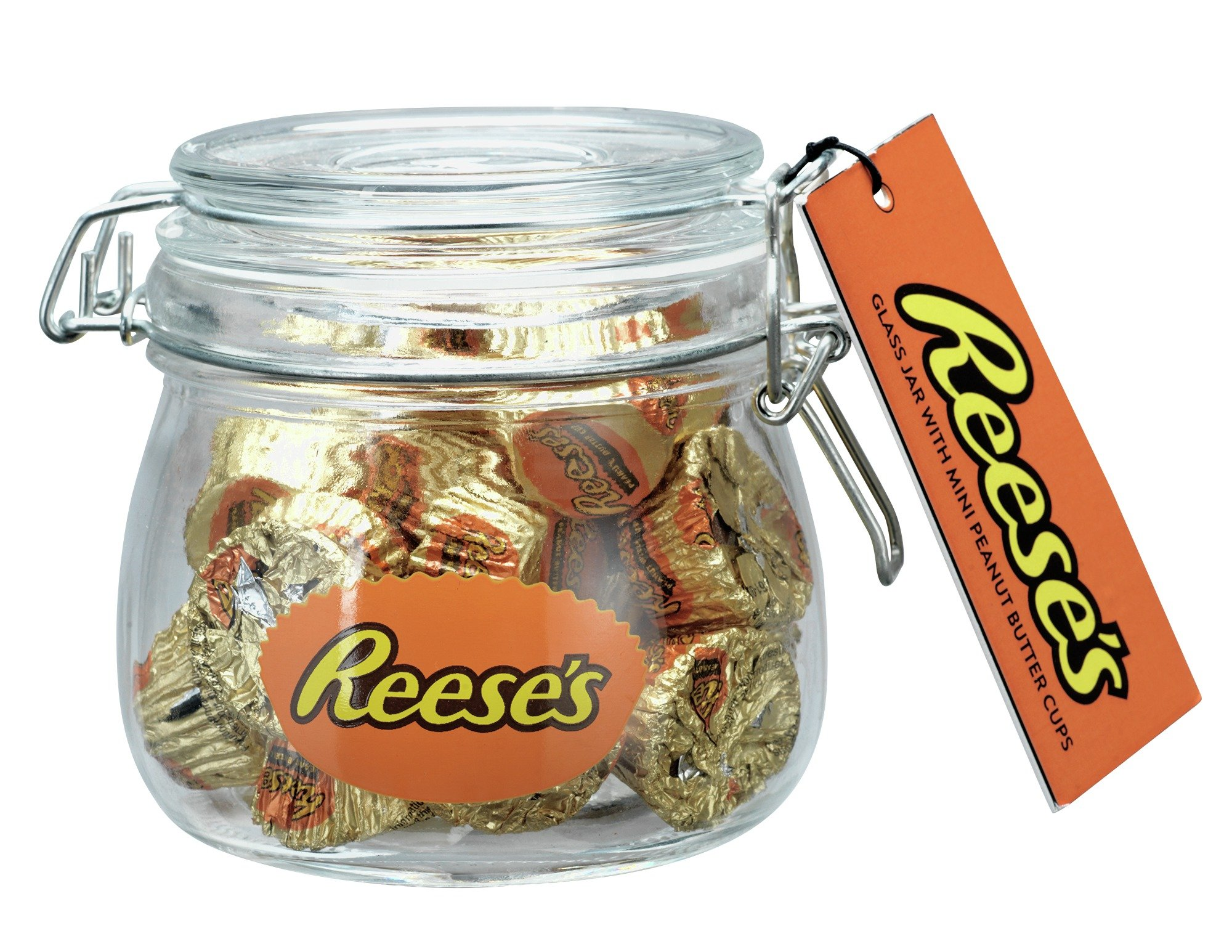 reese-glass-jar-with-mini-peanut-butter-cups
