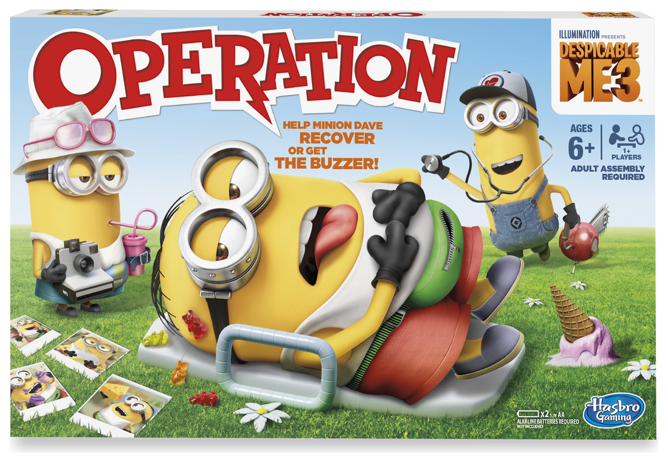 minion operation game instructions