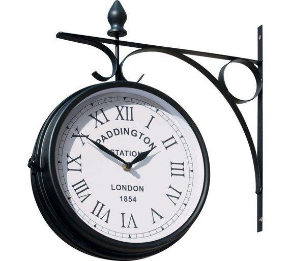 Attractive Paddington Weather Resistant Outdoor Garden Clock