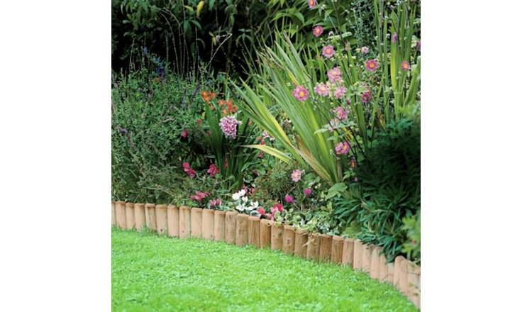 Log Roll Edging - Pack Of 2