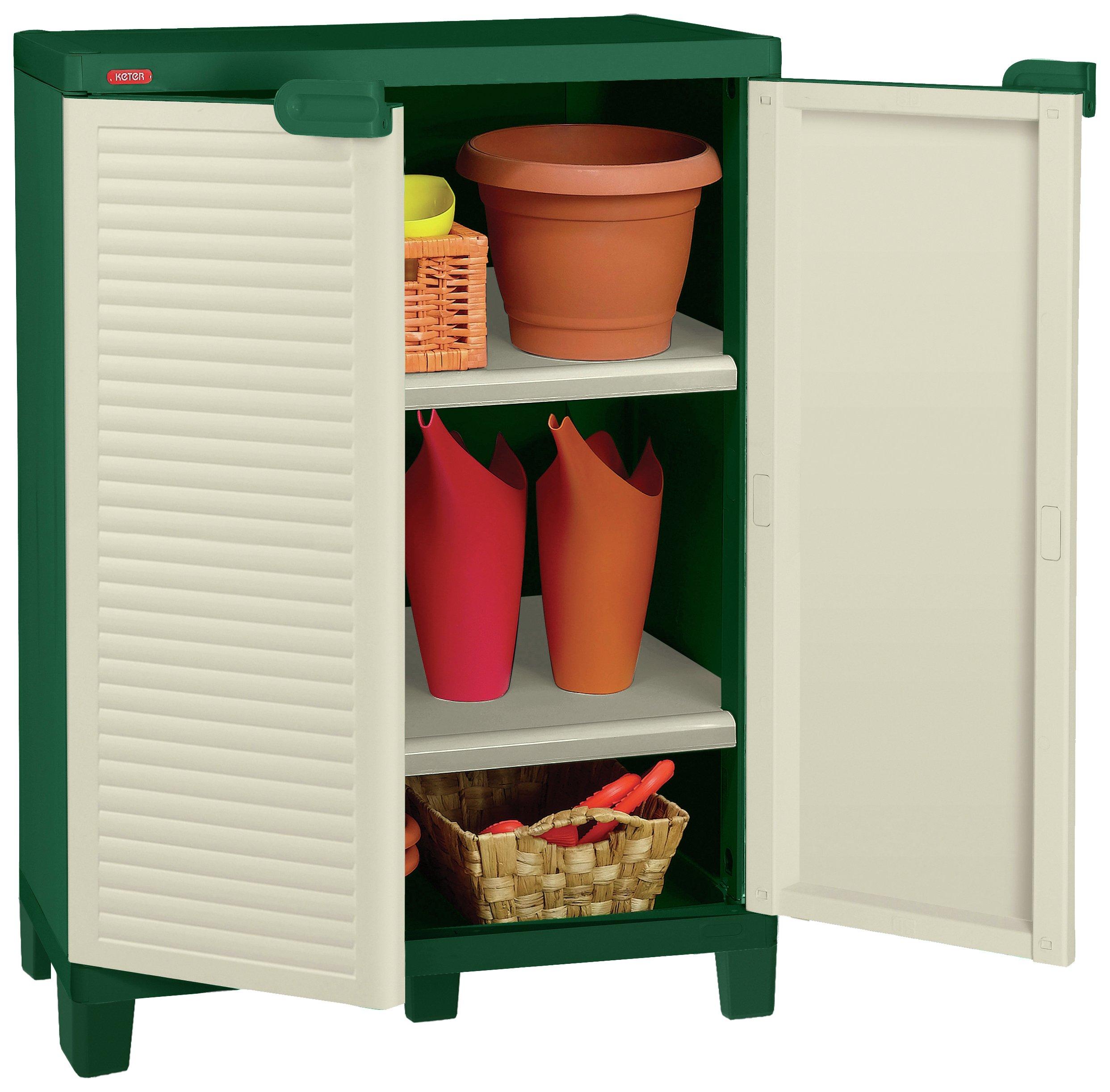Keter Utility Compact Storage Cupboard - Cream & Argos | 338 | Compare Online 247