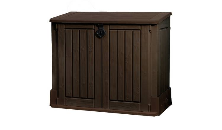 Keter Store It Out Midi 845L Garden Storage Shed - Brown