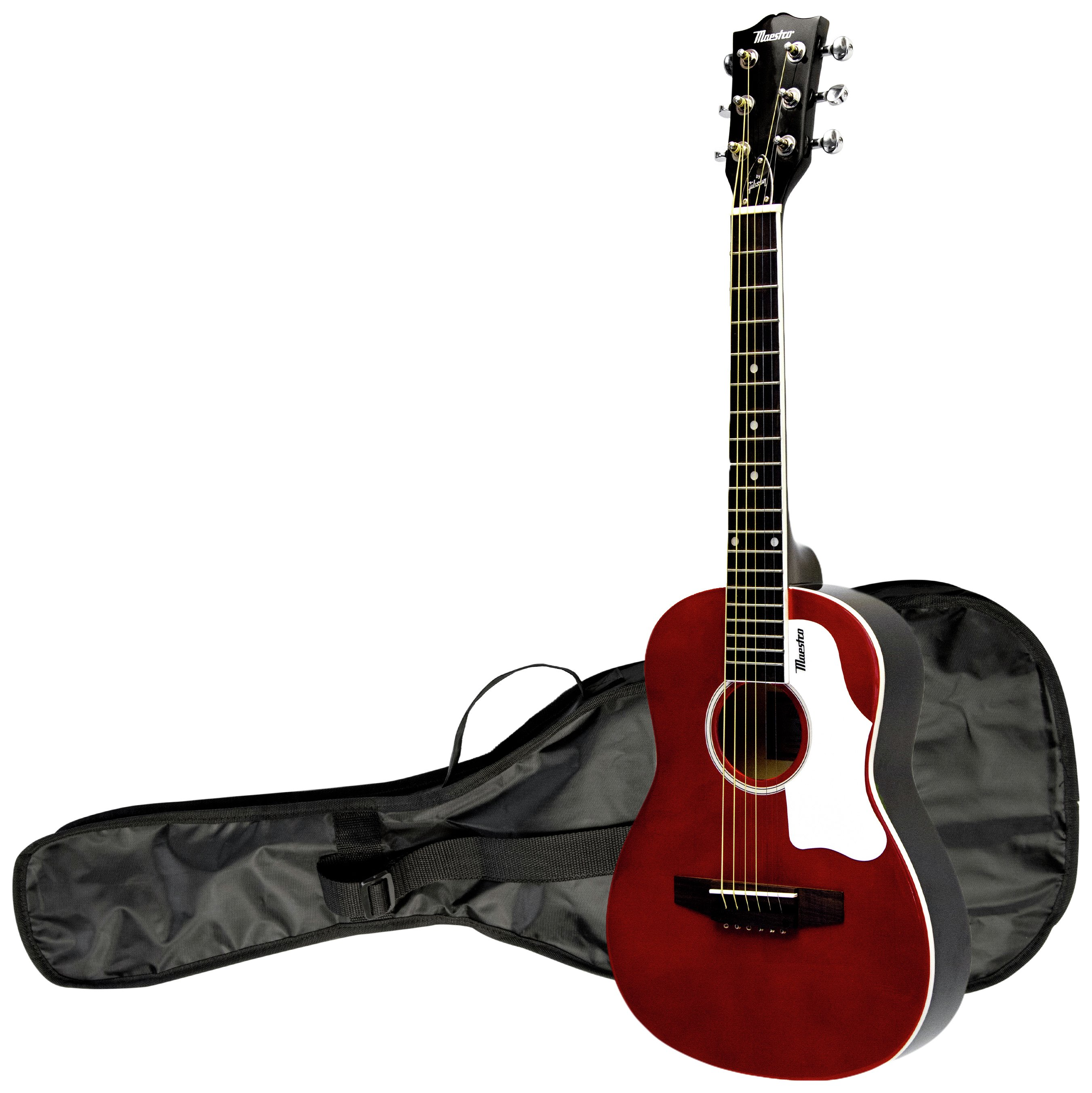 Maestro By Gibson 30 Inch Mini Guitar- Red