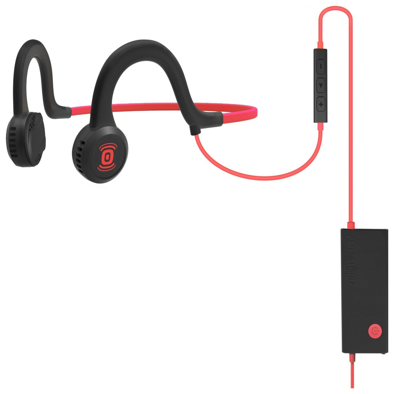 Image of Aftershokz Sportz Titanium with Mic - Red