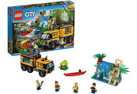 LEGO City Jungle Mobile Lab - 60160