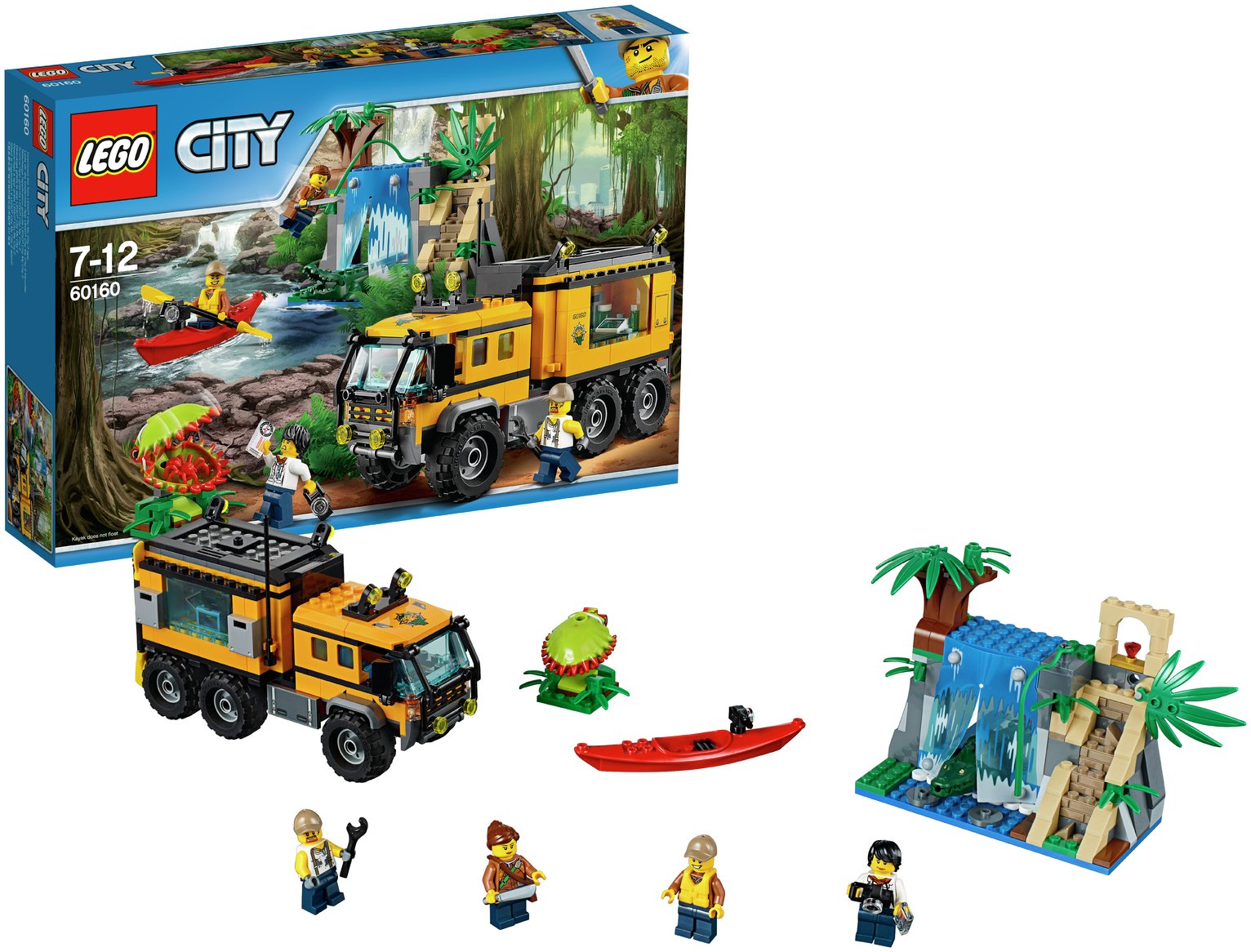 Buy LEGO City Jungle Mobile Lab - 60160   LEGO   Argos