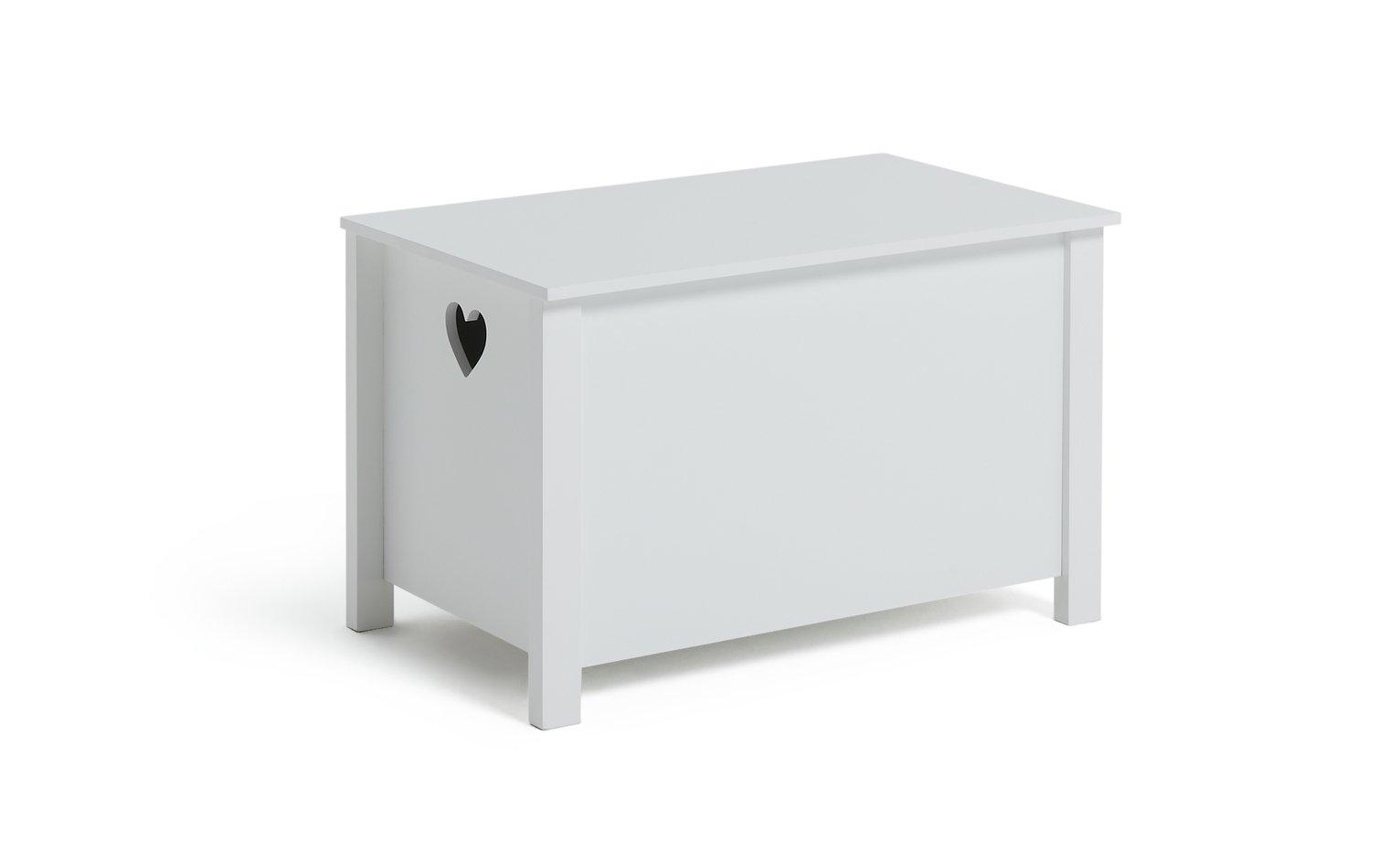Argos Home Mia White Toy Box