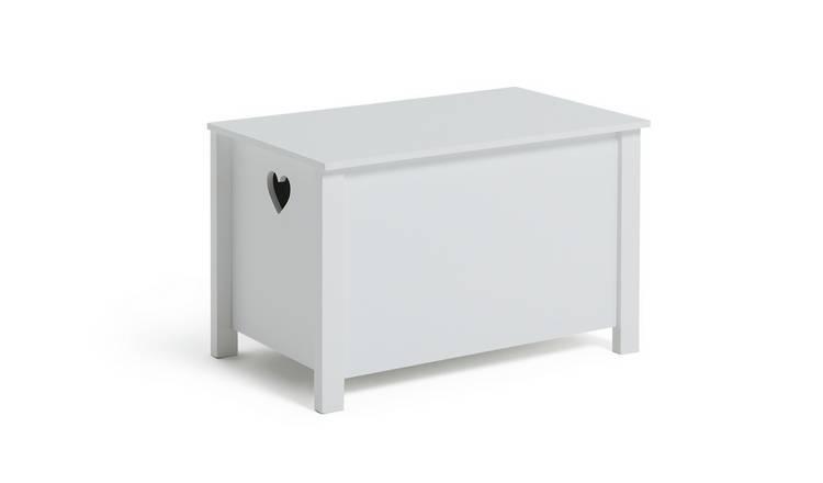 Buy Argos Home Mia White Toy Box | Toy boxes | Argos