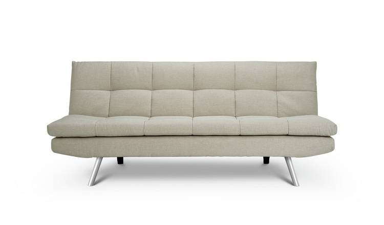 Buy Argos Home Nolan 3 Seater Fabric Sofa Bed Natural Sofa Beds