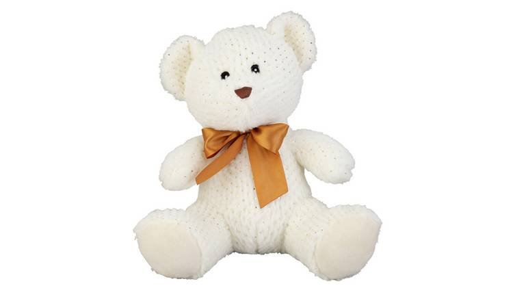 10inch Bear Soft Toy - Cream