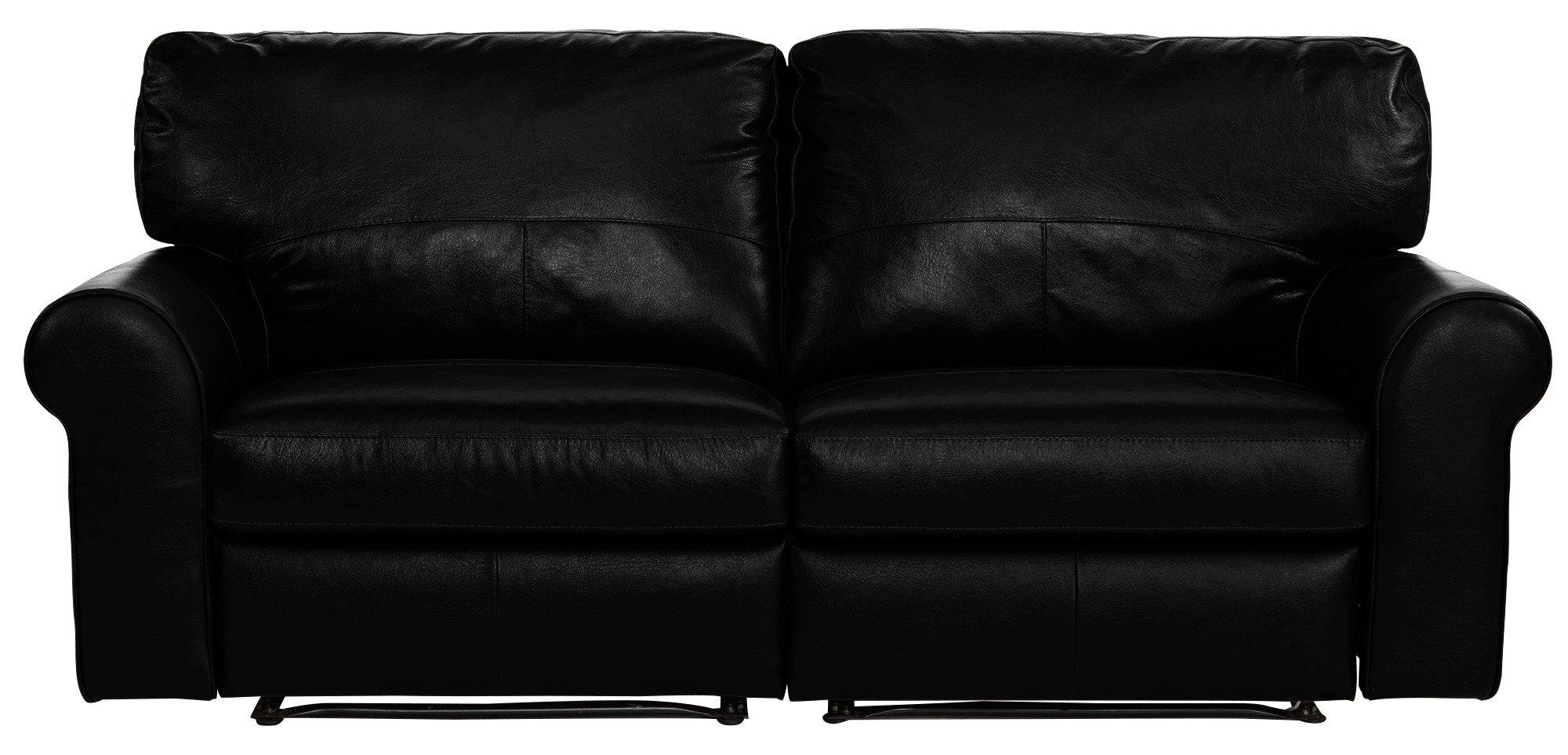 Argos Home -  Salisbury 3 Seater Recliner Sofa - Black