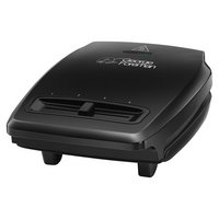 George Foreman Compact 3 Portion Variable Temp Grill 23411