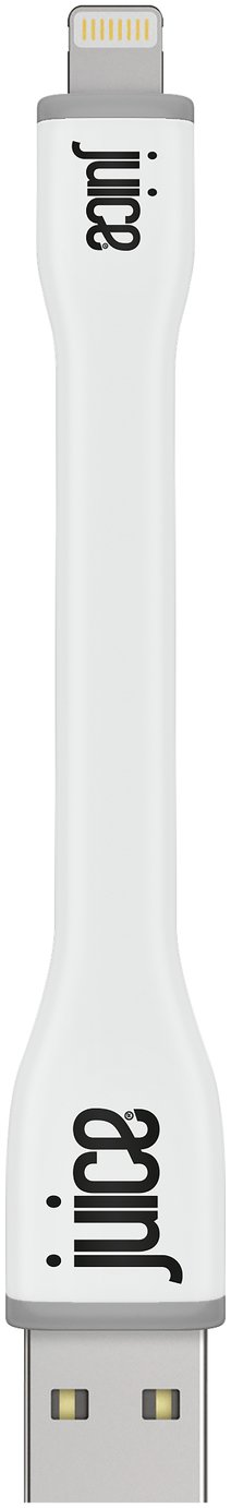 Juice USB to Lightning XS Sync/Charging Cable - White