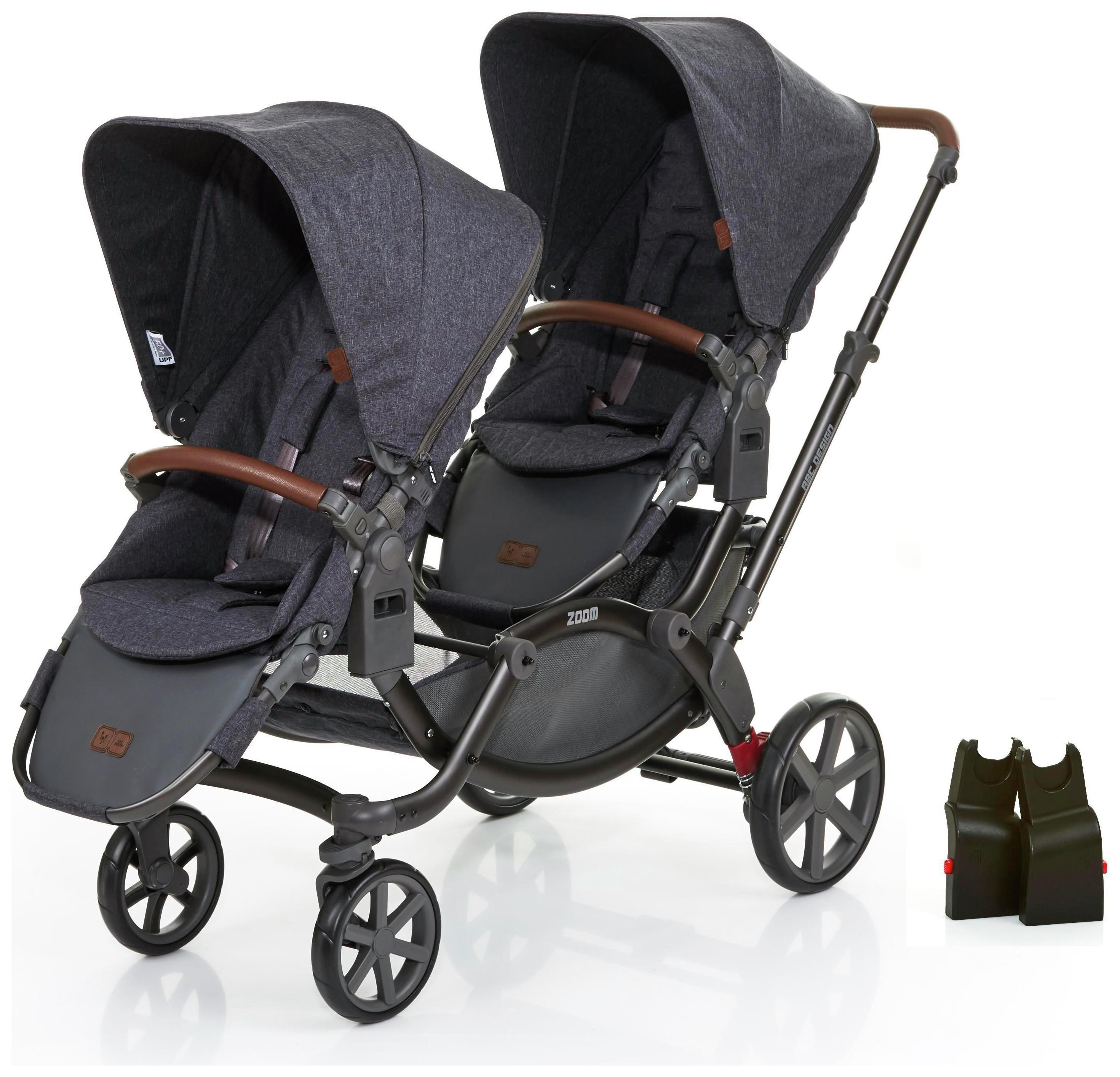 Image of ABC Design Zoom Tandem & 1 Alternative Car Seat Adaptors