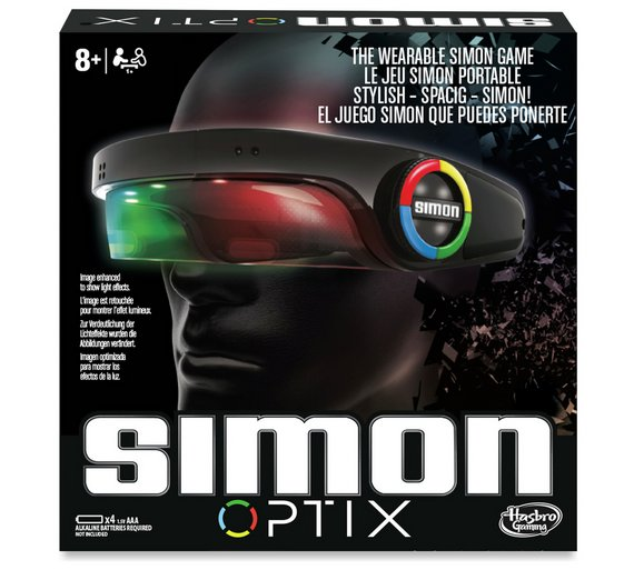 Buy Simon Optix Game From Hasbro Gaming Games And Puzzles Argos