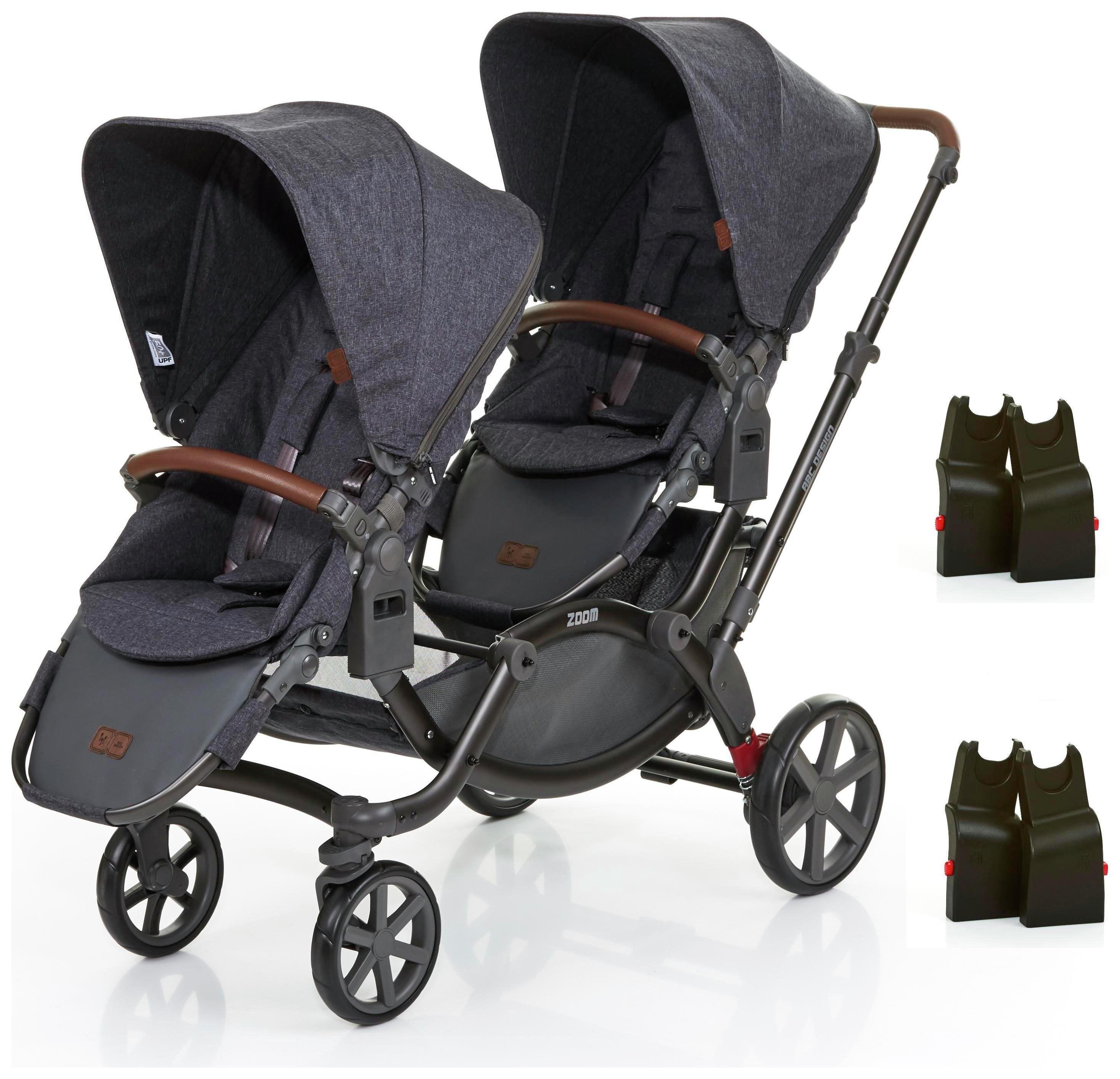 Image of ABC Design Zoom Tandem & 2 Alternative Car Seat Adaptors