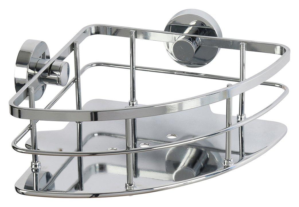 Image of Croydex Charlwood Flexi Fit Chrome Corner Basket