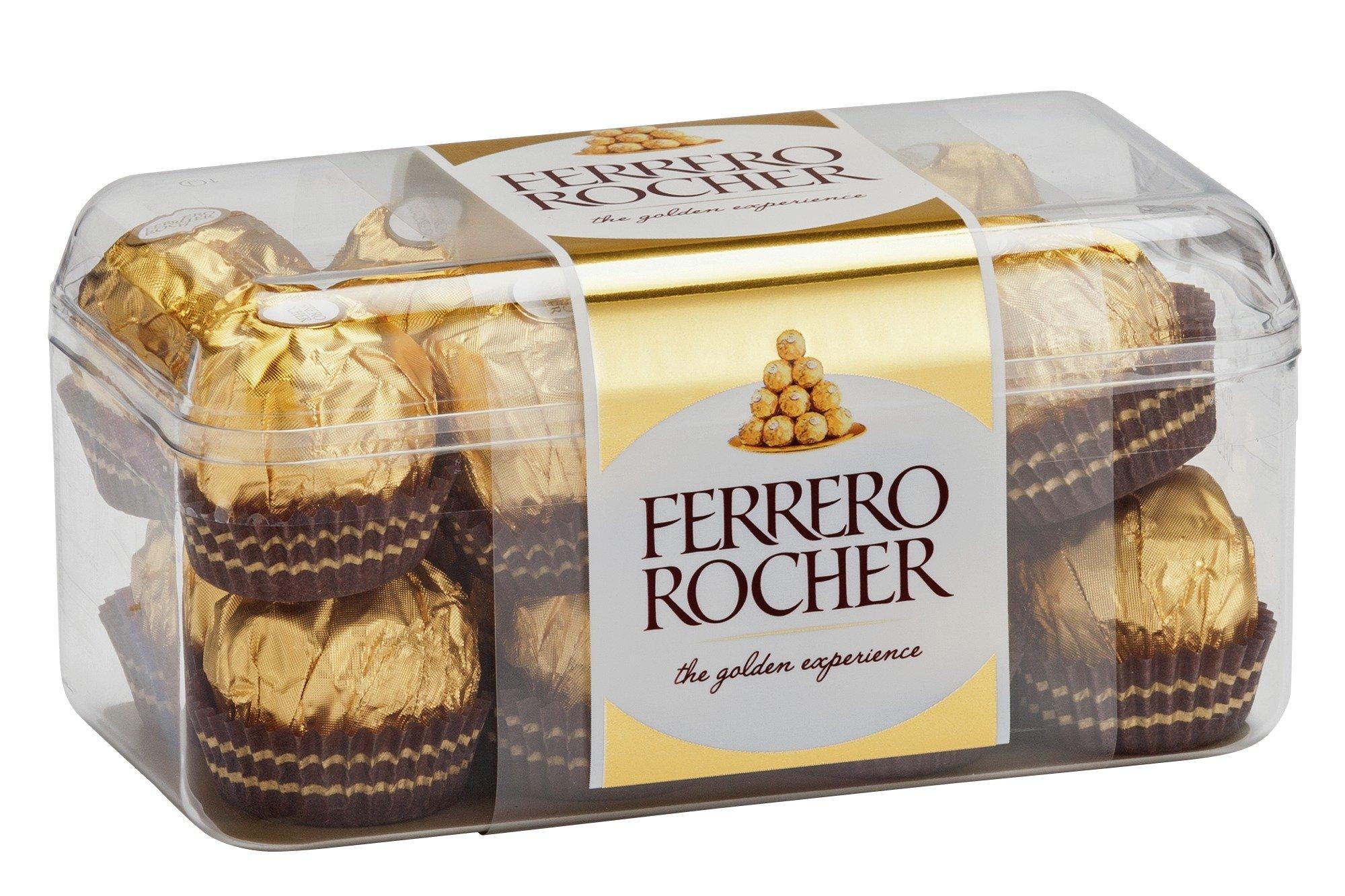 Image of Ferrero Rocher 16 Piece Boxed Chocolate.