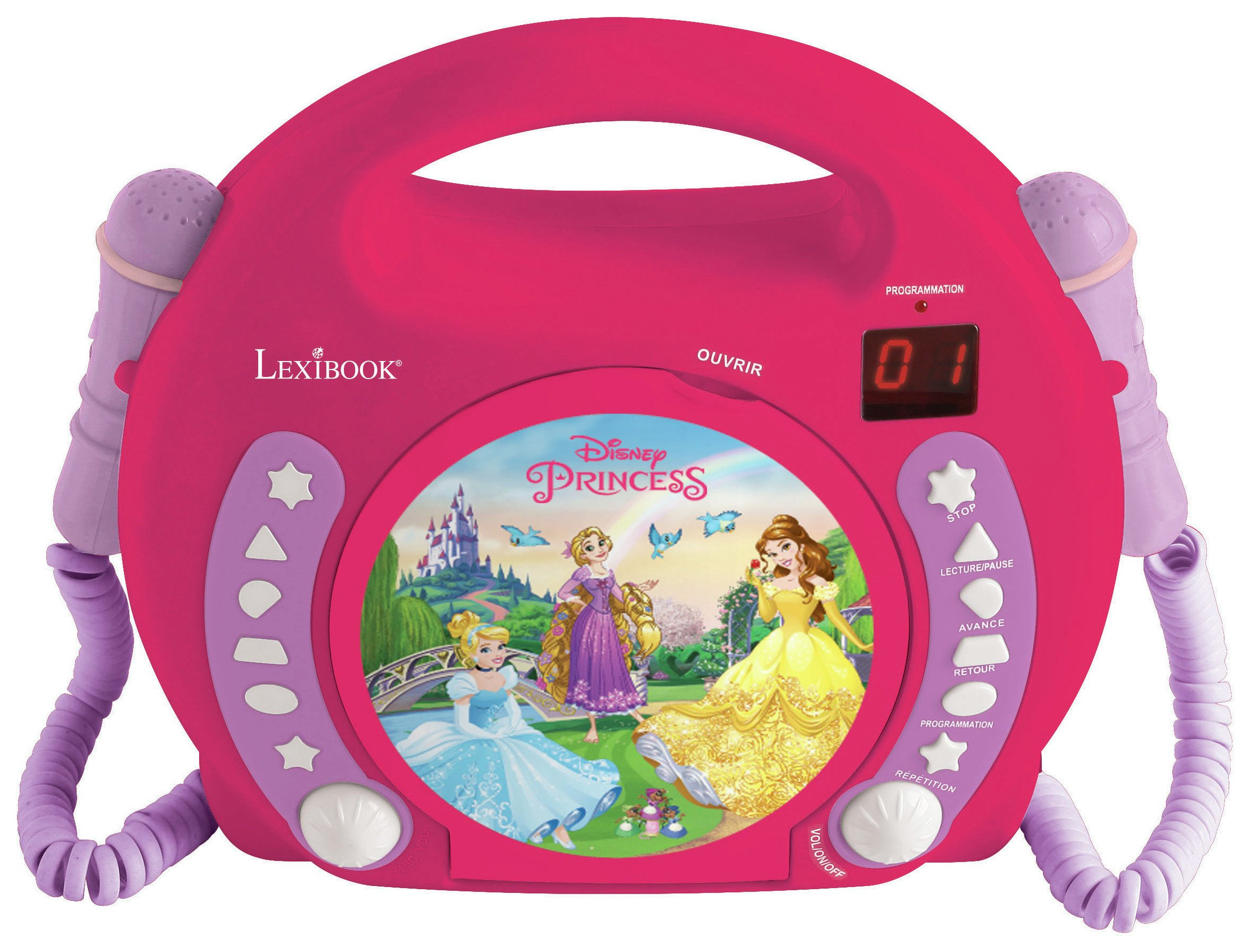 Lexibook Disney Princess CD Player - Pink