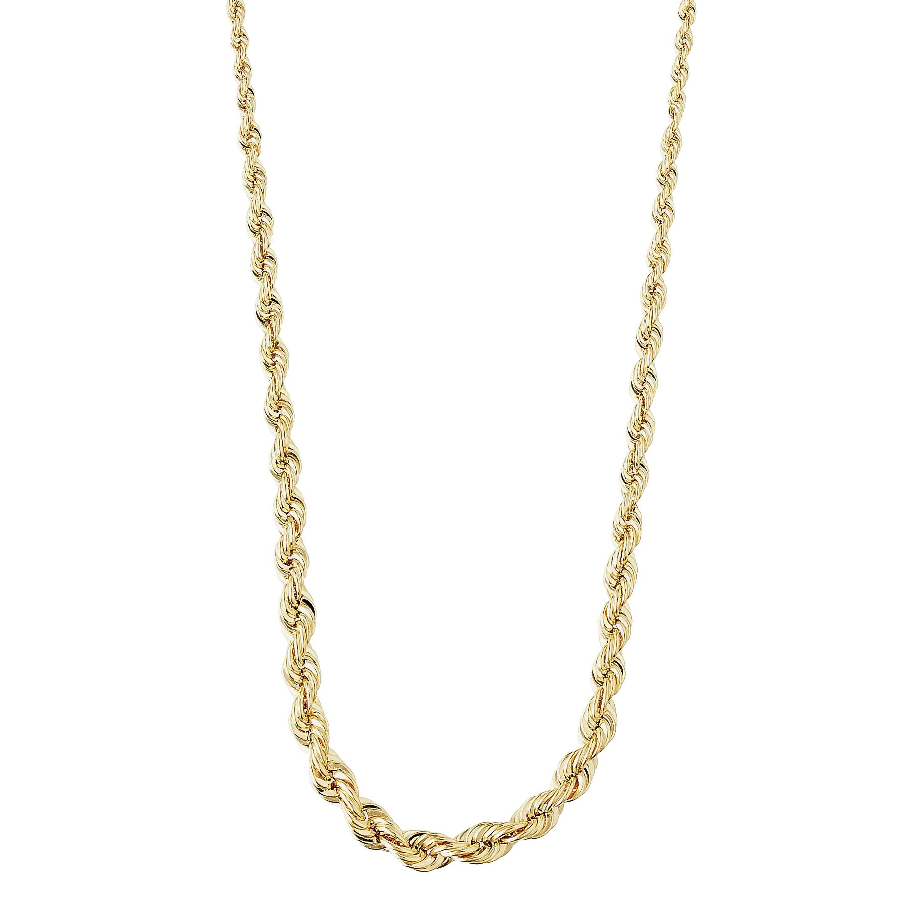 Revere 9ct Gold Rope Chain Necklace