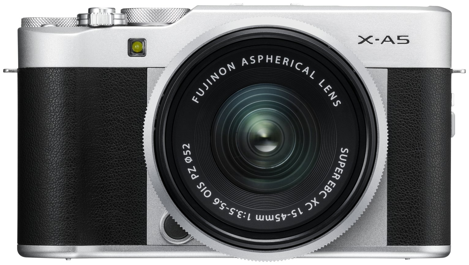 Image of Fujifilm X-A5 XC 24.2MP 15-45mm Compact System Camera-Silver
