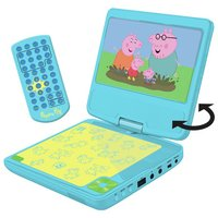 Peppa Pig 7 Inch Portable DVD Player