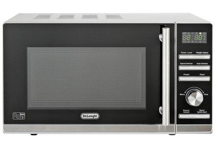 De'Longhi Standard Microwave P80ZVA - Stainless Steel.