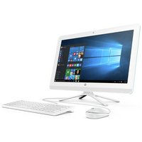 HP Celeron 21.5 Inch 4GB 1TB All-in-One PC - Teal