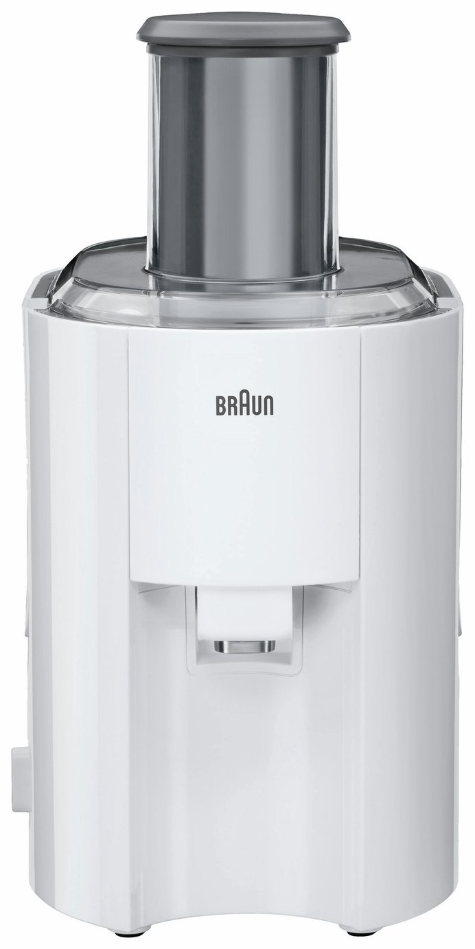 Braun J300 Juicer - White