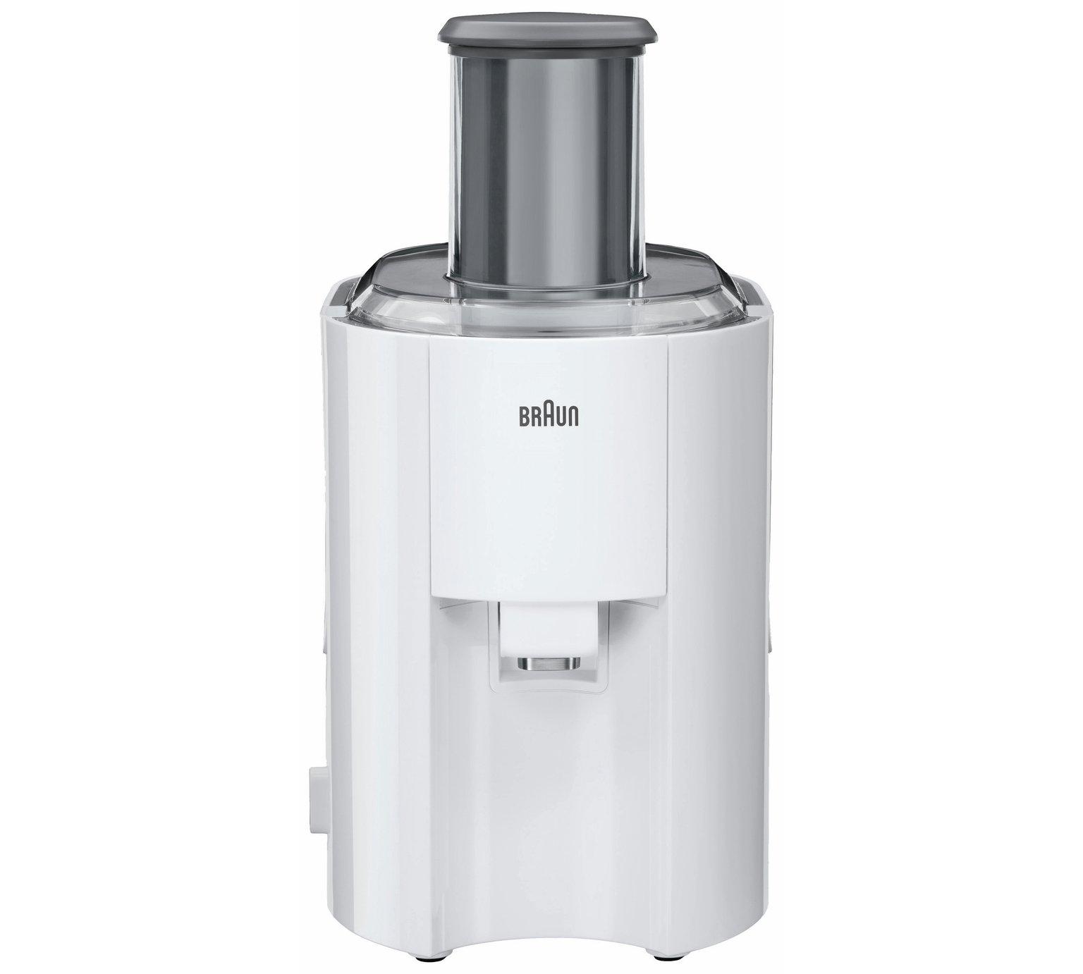 Braun J300 Juicer - White