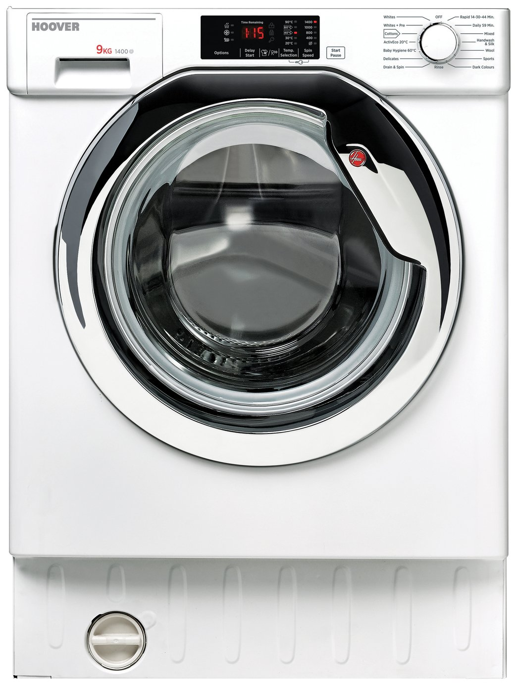 Image of Hoover HBWM914DC 9KG 1400 Spin Integrated Washing Machine