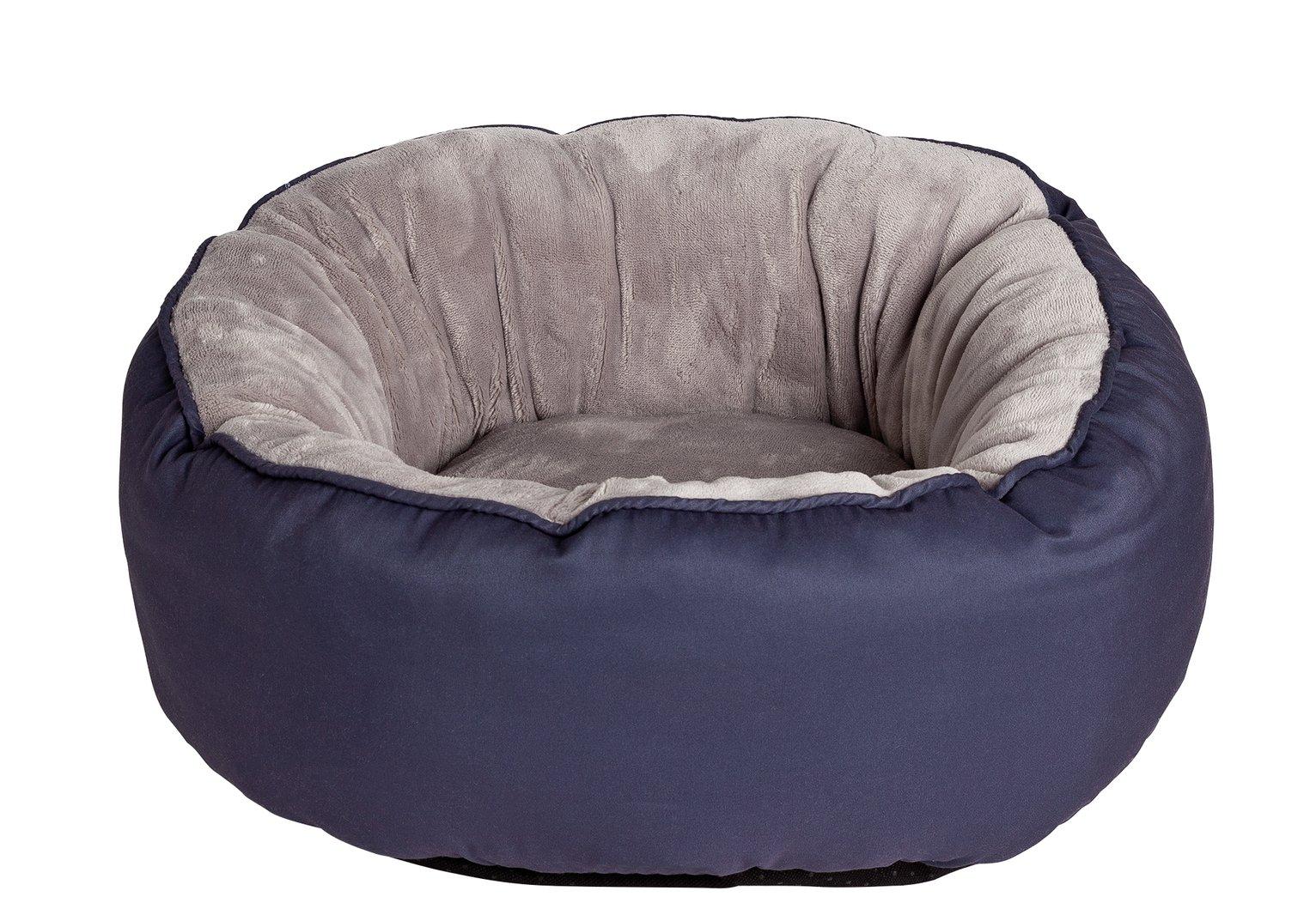 King Pets Grey Snuggle Donut