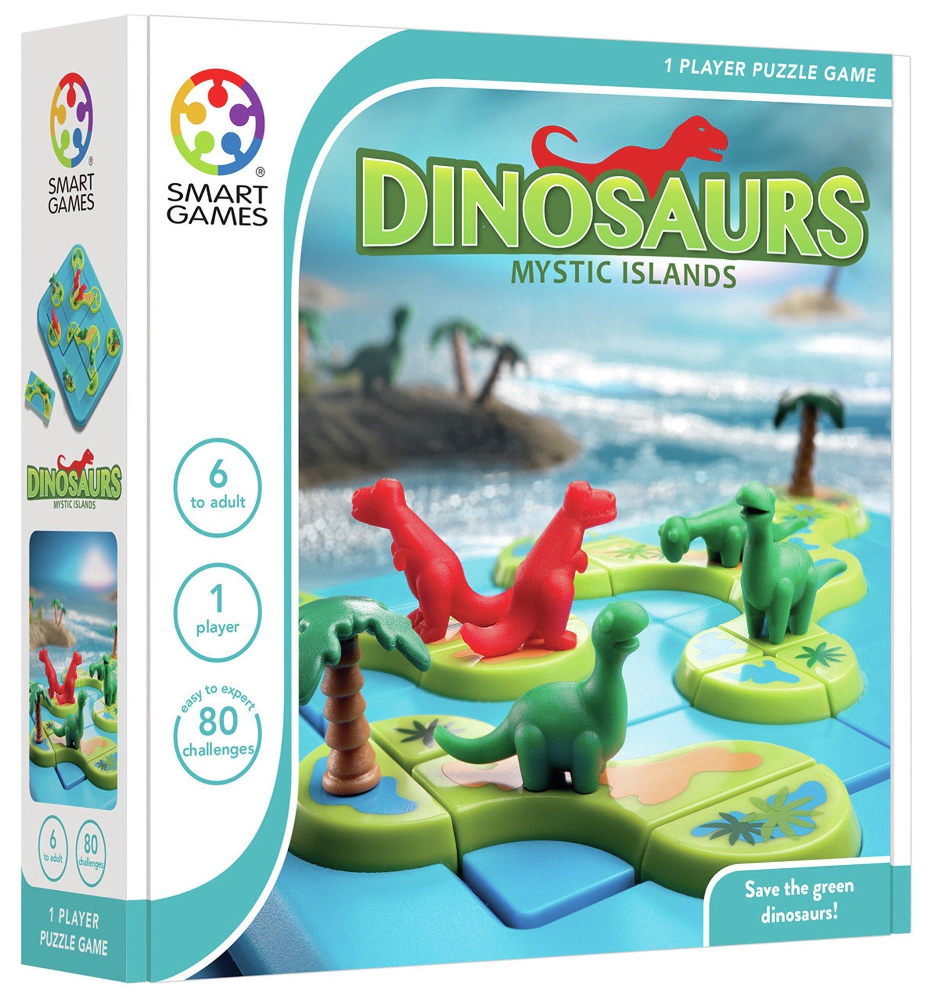SmartGames Dinosaurs Mystic Islands Game.