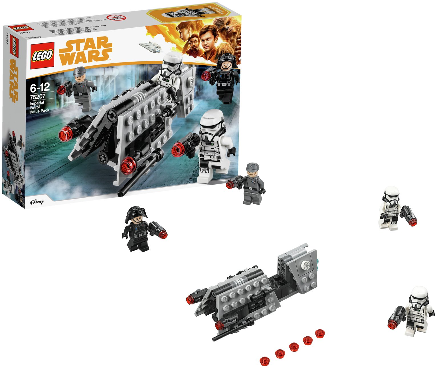 LEGO Star Wars Han Solo Imperial Patrol Battle Pack - 75207